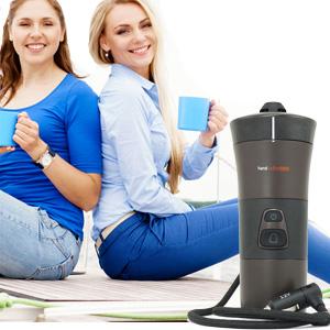 Koffiepadapparaat voor 12 volt
