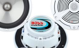 Boss Marine Speakers