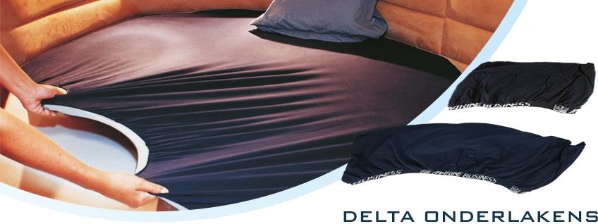 Onderlakens delta vorm