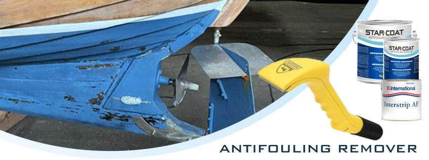 Antifouling verwijderen