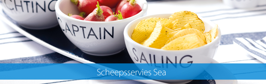Scheepsservies Sea