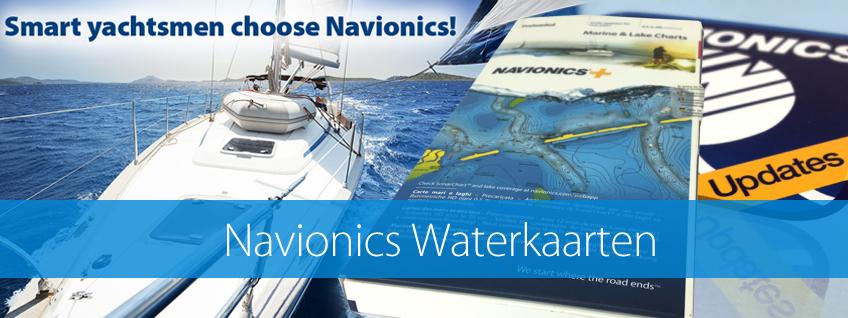 Navionics Waterkaarten