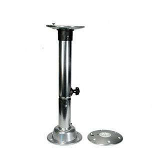 Complete tafelpoot, inclusief Twist Lock voetplaat 50-70cm snelsluiting