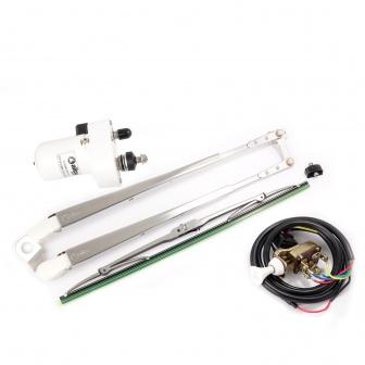 Allpa Ruitenwissermotor met arm en wisserblad bravo inclusief schakelaar
