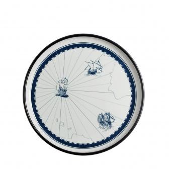 Scheepsservies Dinerbord Columbus Ø 25cm, melamine