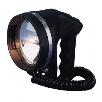 Handschijnwerper met Sealed beam lamp 12 of 24 (uitvoering afhankelijk)
