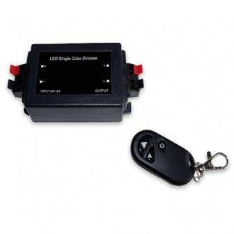 LED dimmer 12-24V met afstandsbediening
