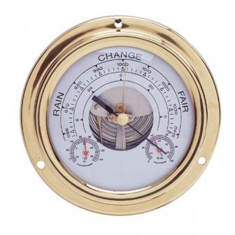 Scheepsklok Marine Range Baro- thermo- en hygrometer