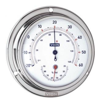 Vion Thermometer / Hygrometer Serie A80 RVS