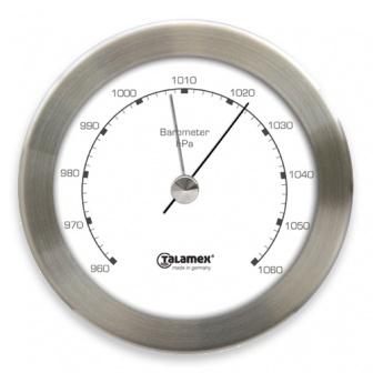 Talamex Barometer Serie 100-RVS luchtdruk