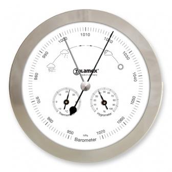 Weerstation Barometer / Thermometer / Hygrometer RVS Talamex