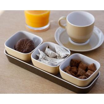 Marine Business Tappas / snack set (exclusief afgebeelde kop en schotel en glas )
