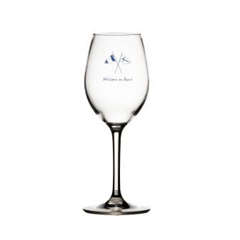 Scheepsservies Wijnglazen onbreekbaar Welcome on Board (6 st)