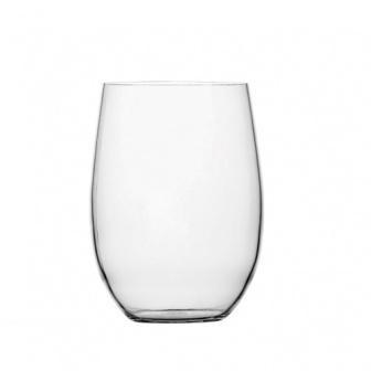 """Scheepsservies Clear, 6 """"onbreekbare"""" frisdrankglazen met antislip voet"""