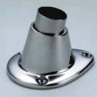 Vlaggenstokhouder met insert 25 mm