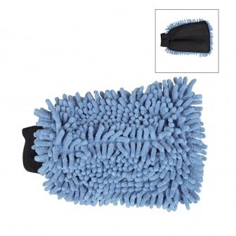 Washandschoen met mesh en dreads voor de boot