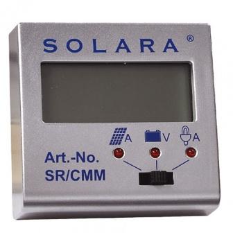 Solara Multimeter en informatiedisplay SR-CMM voor SR135TL