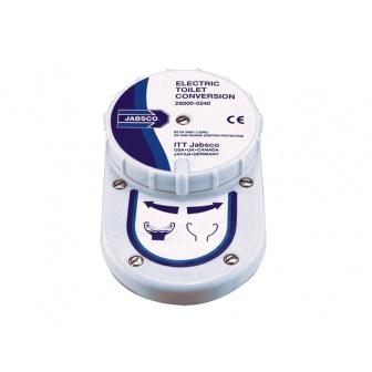Electrische ombouwset Jabsco Pomptoilet Twist&Lock 12 of 24 volt