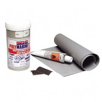 Reparatieset voor PVC of Hypalon rubberboten