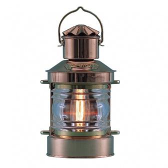 Koperen toplantaarn scheepslamp 220 volt