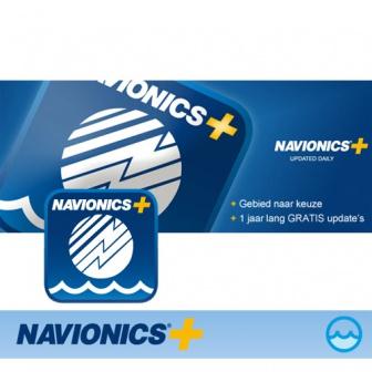 Aanbieding Navionics PLUS digitale Waterkaart