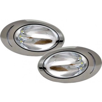 Allpa High Power Hull verlichting Ovaal opbouw LED