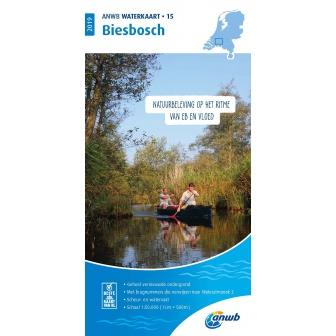 ANWB waterkaart 15 Biesbosch Editie 2020