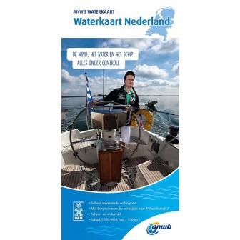 ANWB Waterkaart Nederland editie 2019