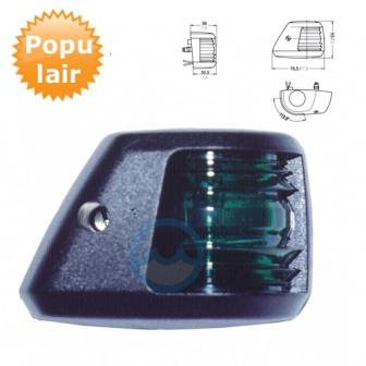 Navigatieverlichting Aqua Signal Serie 20 Stuurboord lantaarn