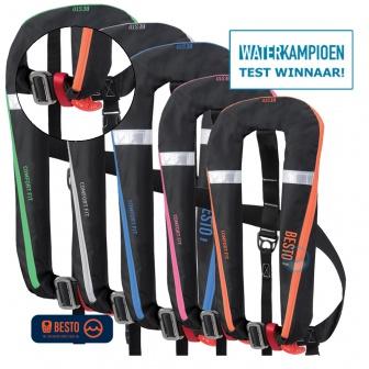 Reddingsvest test winnaar Waterkampioen 2016 Besto Comfort Fit
