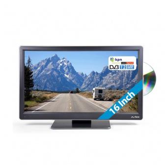 Avtex L168DRS 12 volt TV met DVBT-T2 en DVB-S/S2 Camper, Caravan en boot geschikt