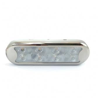 Bimini LED verlichting met RVS rand