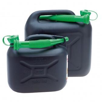 Brandstof Jerrycan met schenktuit. In 5, 10 en 20 liter
