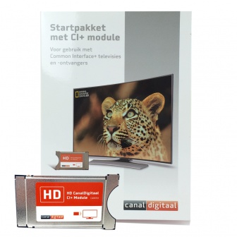 Canal Digitaal CI+ Cam Module met geïntegreerde Smartcard