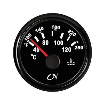 CN koelwater temperatuur meter zwart