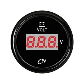 CN Voltmeter digitaal zwart