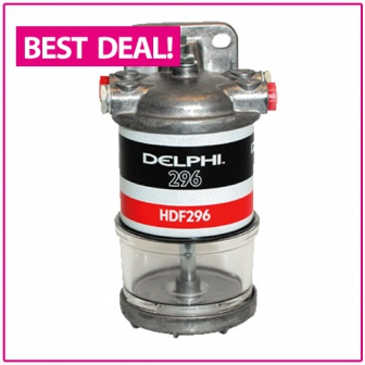 Delphi dieselfilter en waterscheider aanbieding!