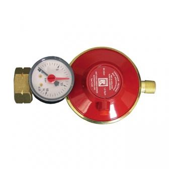 """Gasdrukregelaar Shell-Combi 30Mbar met manometer l bu 1/4"""""""