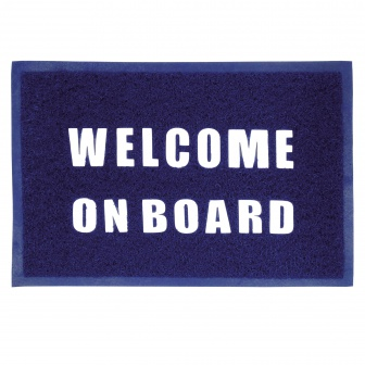 Entreemat ''Welcome On Board'' 60x40 cm