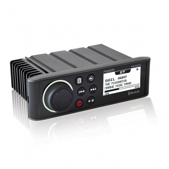 Fusion Marine Radio MS-RA70 Bluetooth zijkant bootradio