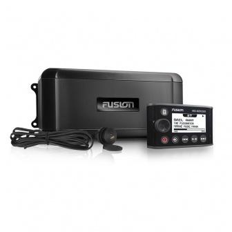 Fusion MS-BB300 Black Box marine radio met NRX300 afstandsbediening totaal