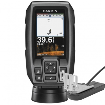 Garmin Striker PLUS 4 CV CHIRP Fishfinder met spiegeltransducer, GPS en Cleas VU