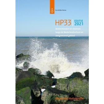 Getijtafel HP 33: Waterstanden en Stromen 2021