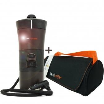 Handcoffee 12 volt koffiepad apparaat
