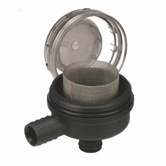 Jabsco Drinkwaterfilter haaks Snap In > 19mm slangthule