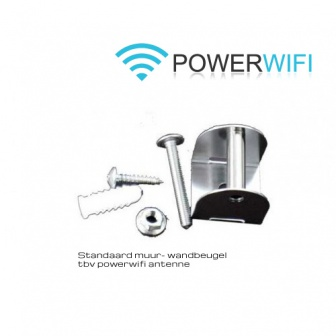 Power Wifi Muurbgeugel RVS