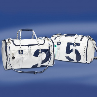 Sea Mate. Weekendtas van zeilstof. Navy. Nautic Gear Watersport