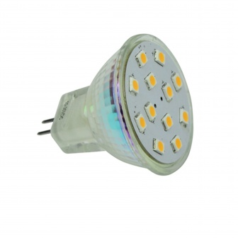 LED 12V MR11 12xSMD ledlamp