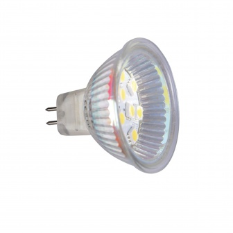 LED 12V MR16 10xSMD zijkant