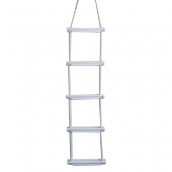 Talamex Touwladder met 3, 4 of 5 tredes, Nautic Gear